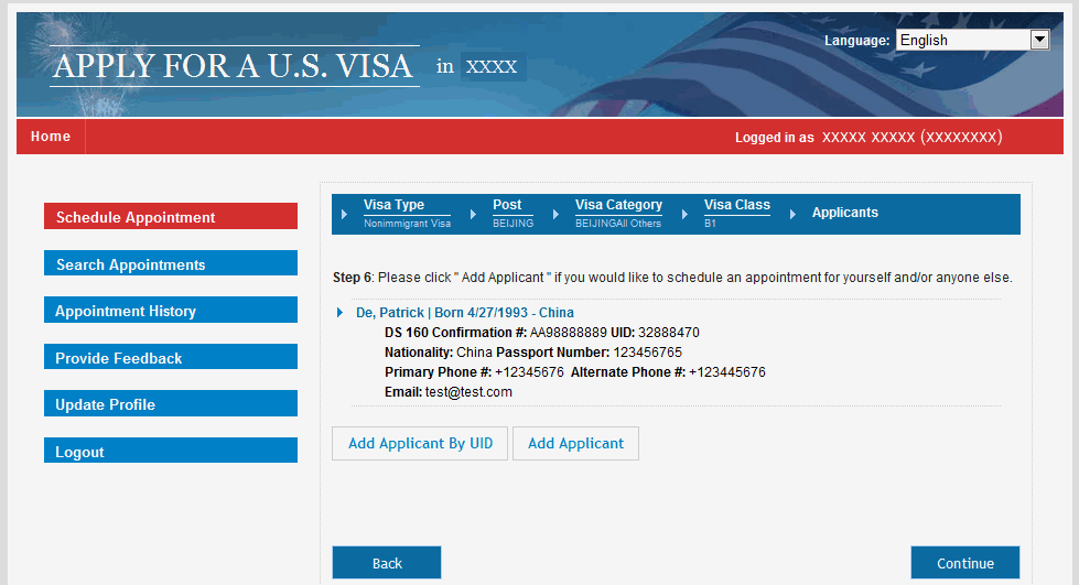 Apply For A U S Visa Travel Coordinator Bahrain English