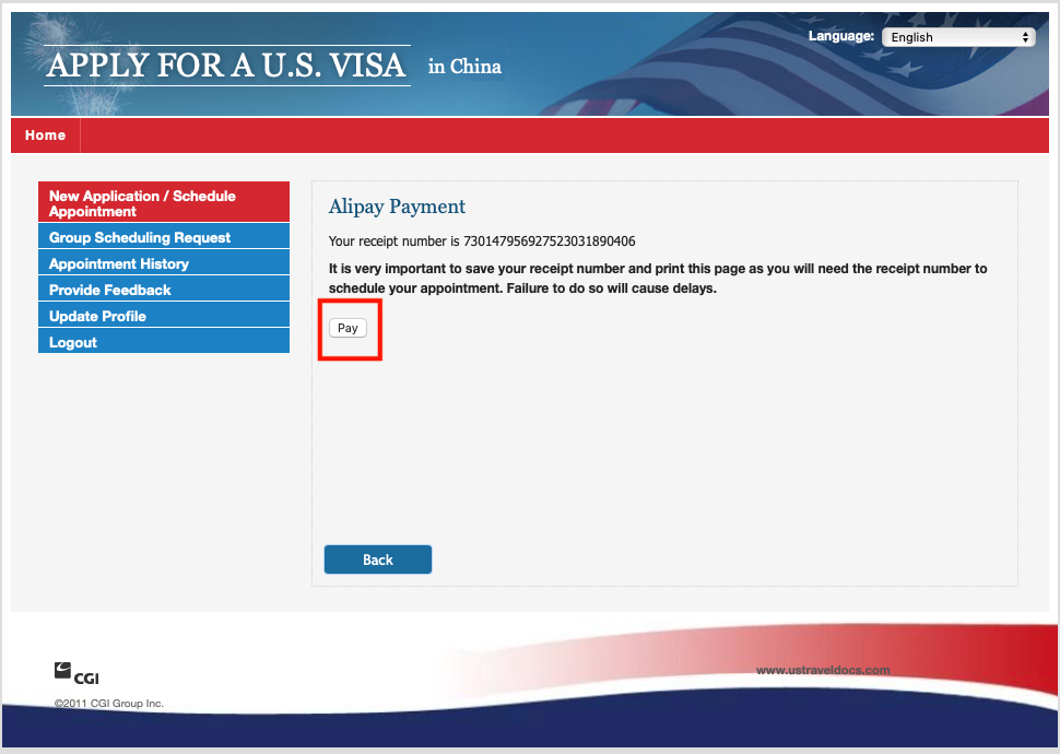 Apply for a U S  Visa | Bank and Payment Options/Pay My Visa Fee
