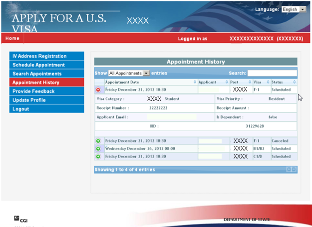 Apply for a U S  Visa | Travel Coordinator - Germany (English)
