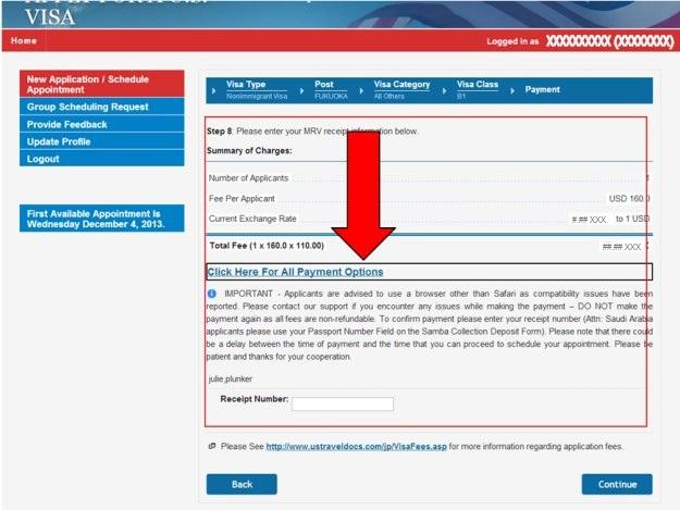 Apply For A U S Visa Bank And Payment Options Pay My Visa Fee Kazakhstan English
