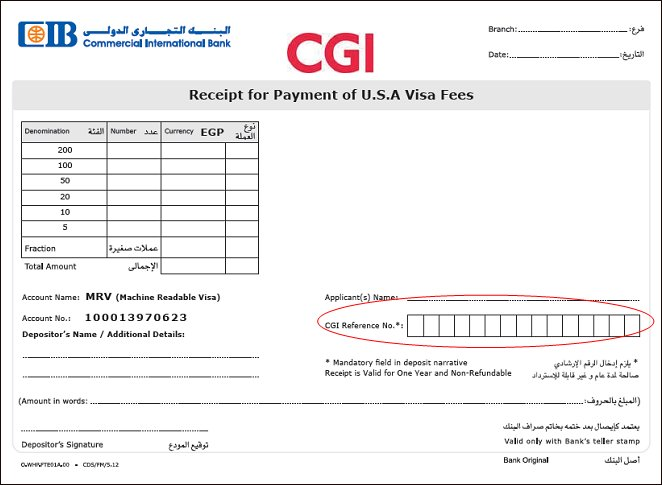 us visa fee payment form axis bank
