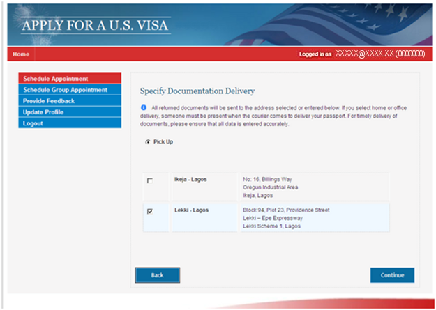 Apply for a U S  Visa | Tutorial for Scheduling Group