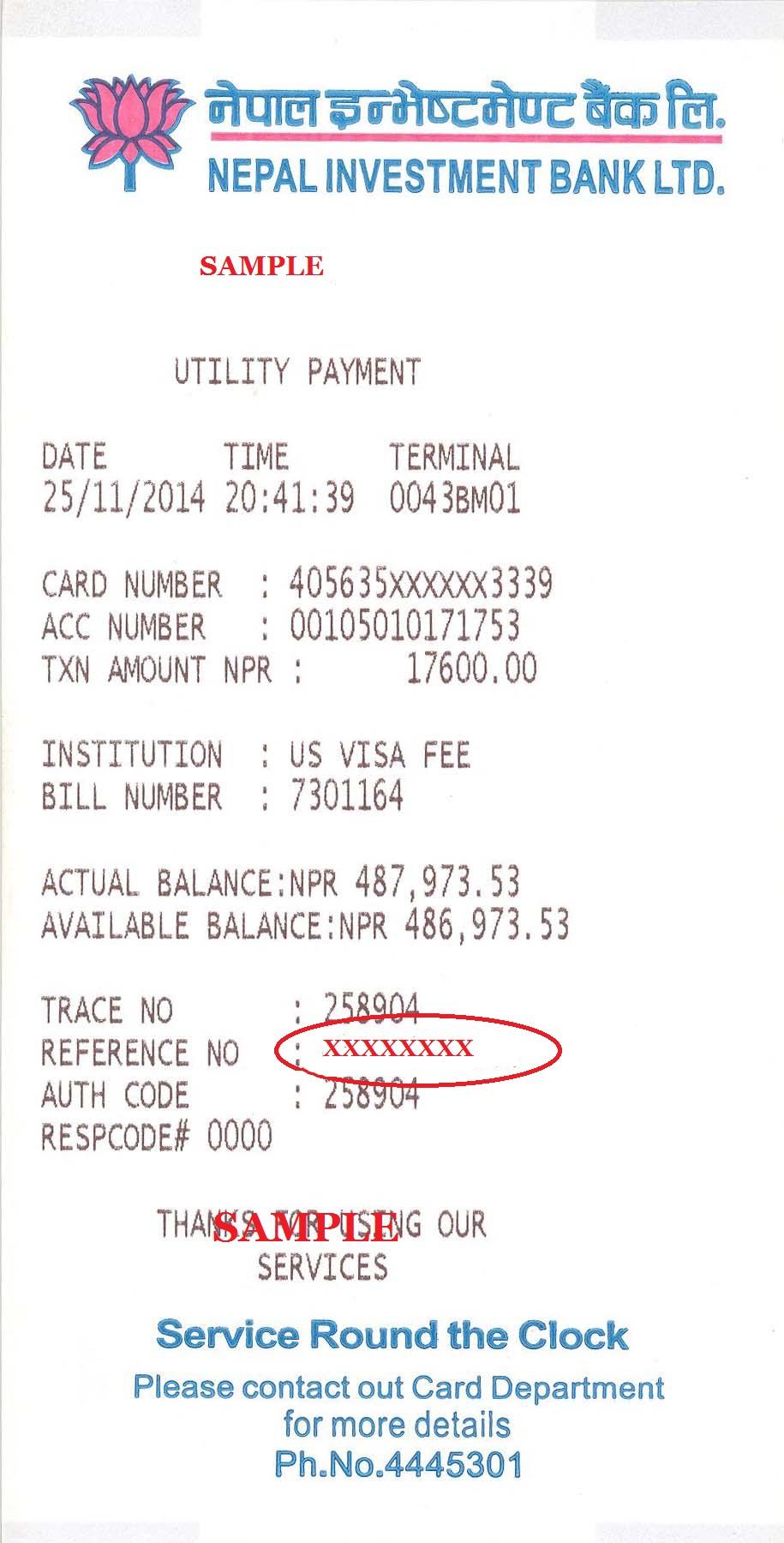 Ustraveldocs Ht Create Account - Cash at nibl bank